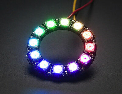 Adafruit NeoPixel Ring 12 x WS2812 5050 RGB LED Halo with Integrated Drivers