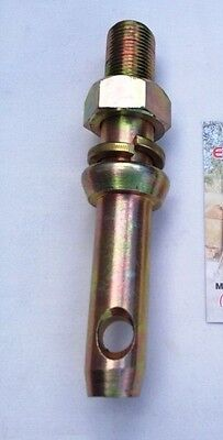 """2 TRACTOR IMPLEMENT PIN CAT1  Pin Ø: 7/8"""". Working Length: 51mm."""