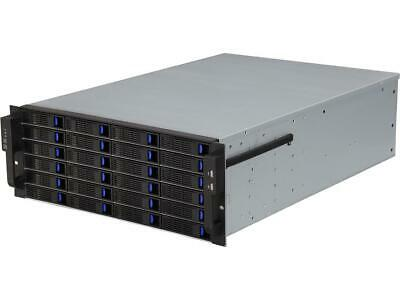 NORCO RPC-4224 4U Rackmount Server Case with 24 Hot-Swappable SATA/SAS Drive Bay