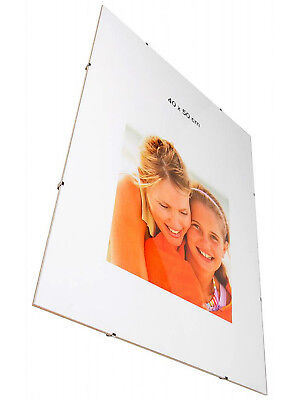 Clip Frames Frameless Photo Poster Certificate Artwork Picture Frames Many Sizes
