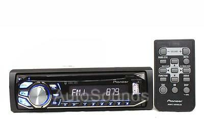 Pioneer DEH-X4600BT CD/MP3/WMA Player Bluetooth Pandora Support Front USB AUX