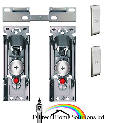 Libra H1 Concealed Wall Hanger Brackets For Kitchen Cabinet Mount Inc Plate&Caps