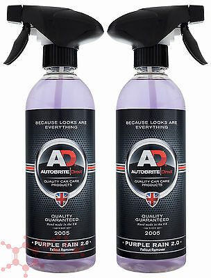 Autobrite Direct Purple Rain 2.0 1L ~ Iron Decontamination Fallout Remover