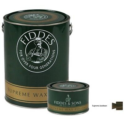 Fiddes Supreme Jacobean Wood Wax Polish/Restorer For Furniture, Doors & Woodwork
