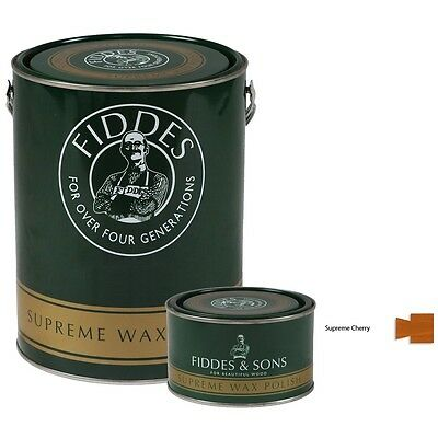 Fiddes Supreme Cherry Wood Wax Polish/Restorer For Furniture, Doors & Woodwork