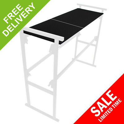 Ekho Twin Mobile Portable DJ Deck Stand Shelves 2ft BOARDS ONLY