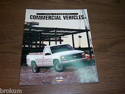 Mint 1998 Chevrolet Chevy Commercial Vehicles 42 Page  Sales Brochure (252)
