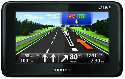 TomTom Go Live 1015 M Pack Europe 45 XXL= 1005 + FREE Lifetime Maps ohne SD-Slot