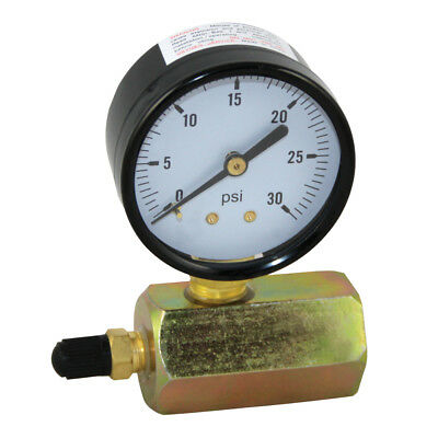 "30 PSI Gas / Air Test Gauge Pressure 3/4"" FPT Body"