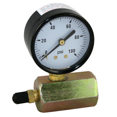 "100 PSI Gas / Air Test Gauge Pressure 3/4"" FPT Body"