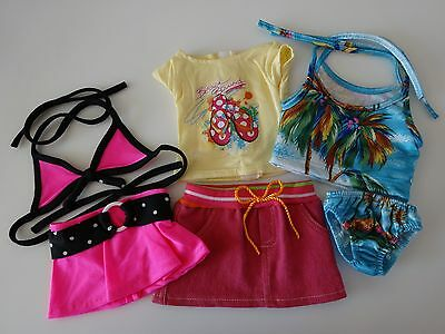 """NEW-DOLL CLOTHES Lot #46B Swuimsuits & Skirt Sets[3] fit 18""""Doll such as AG Doll"""