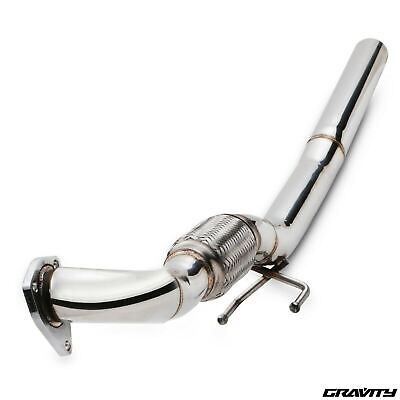 Stainless Exhaust De Cat Decat Downpipe For Vw Golf Mk4 Bora 1J2 1.9 Tdi 98-04