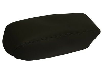 Fits 01-04 Ford Escape Console Lid Armrest Cover Synthetic Leather Black