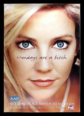 MELROSE PLACE * CineMasterpieces POSTER HEATHER LOCKLEAR MONDAYS ARE A BITCH