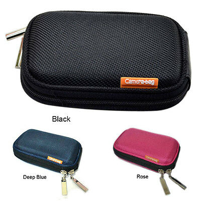 Small Compact DC Digital Camera Case Bag For Nikon Canon Sony Panasonic Samsung