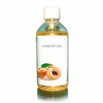 Organic Apricot Kernel oil 200ml 6.7 oz cold pressed 100% pure and natural