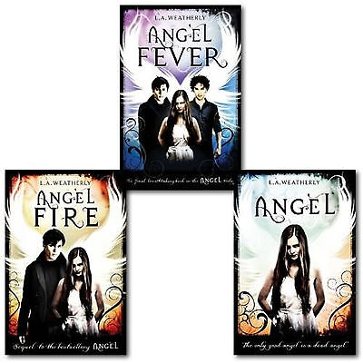 Angel Trilogy Collection L.A. Weatherly 3 Books Set-Angel,Angel Fire,Angel Fever