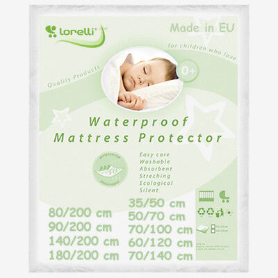 WATERPROOF BABY MATTRESS PROTECTOR washable cover cot bed cradle reusable