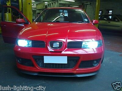Seat Leon Mk1 Xenon Hid Conversion Kit H7 With Metal Based Bulbs 6000K Or 8000K