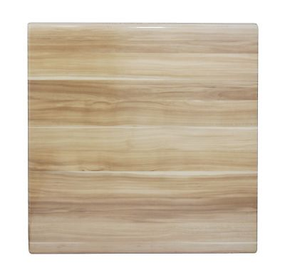 New Table Top Restaurant Cafe Antiscratch Isotop Dining 60cm Square Plum Natural