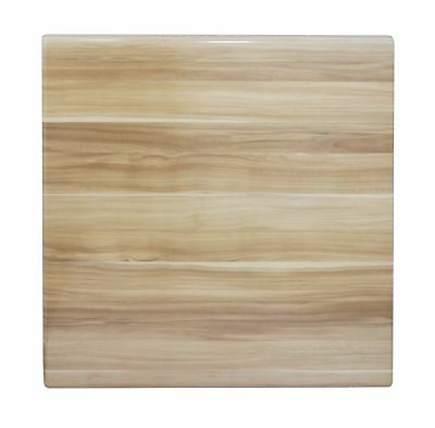 Table Top Restaurant Cafe Antiscratch Isotop Dining 60cm Square Plum Natural