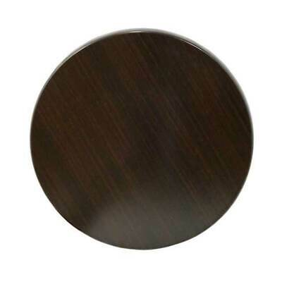 Cafe Table TOP Restaurant Furniture Round Outdoor Tables Tops 60cm Dark Walnut