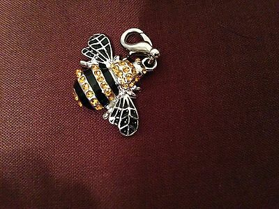 Bumble Bee Bling : A Animal Crystal Purse Charm