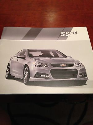2014 Chevy SS 24-page Original Sales Brochure