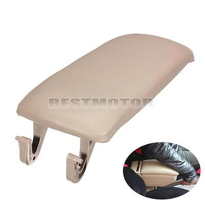 Beige Arm Rest Cover Center Console Armrest Lid For AUDI A4 S4 A6 Allroad 00-06