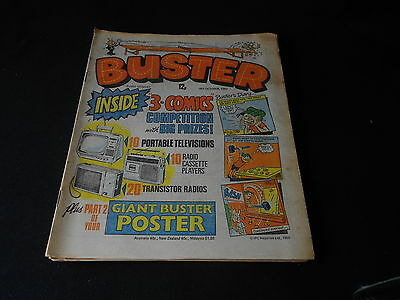 Buster Comic 18th October 1980