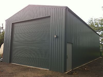 Large Industrial Workshop - Steel Building - Steel Framed Buildings UK - UK #1
