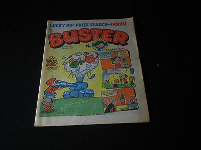 Buster Comic 4th April 1981