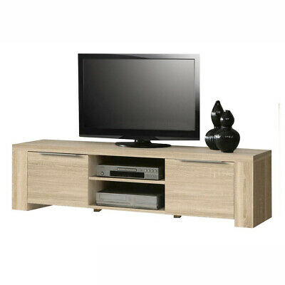 tv schrank lowboard atrium tv tisch tv kommode eiche sonoma neuheit eur 116 00 picclick de. Black Bedroom Furniture Sets. Home Design Ideas