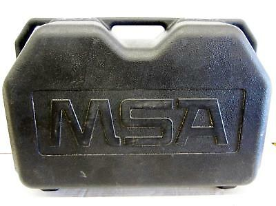 Msa 10052819 Self Contained Breathing Apparatus/Scuba Gear Components W/ Case