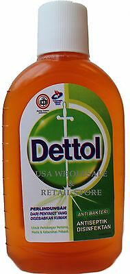 250ml Dettol Antiseptic Liquid First Aid Cleaner Disinfectant Kills Germs USA