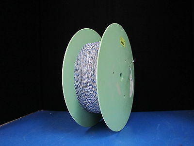 2 Wire Phone Cable 2 x ZL 2419 Blue White - ETFE 1000+ Meters on Spool