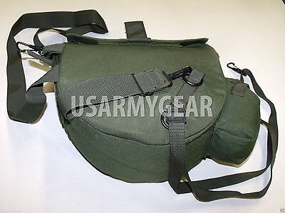 US Military Army OD Green Messenger Bag Carrier Satchel Utility Pouch Pack Case