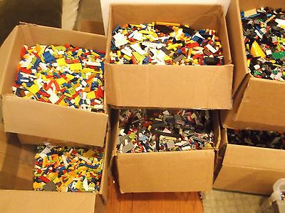 Clean 100% Genuine LEGO by the Pound - 1 - 100 pounds Bulk LOT Large Order Bonus