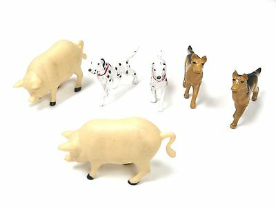 G scale 1:32 Animal Figures for Model Train Layout - Pig Dog