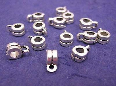 sale-24 pc antique silver finish metal connector-578