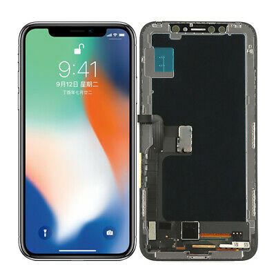 New Display LCD Touch Screen Digitizer Frame Assembly Replacement For iPhone X