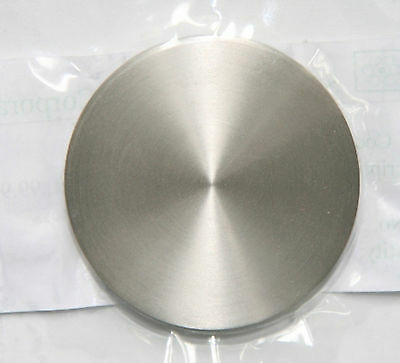 99.995% Titanium Ti Sputtering Target Disc Plate Diameter 100mm Thick 5mm # GY