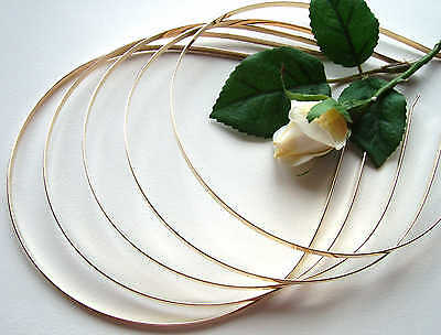 Plated Metal Tiara Bands - 3mm - Gold Effect - In Packs of 1/3/5/10/20 headbands