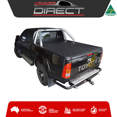 Ute Covers Direct:Toyota Hilux Extra Cab SR5 Clip On Tonneau - suits sports bars