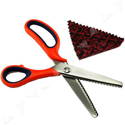 Pinking Shears Sewing Craft Upholstery Scissors Dressmaking Tailor Tool