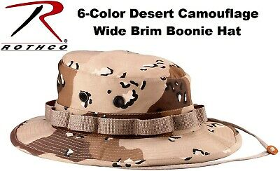 5a6c430fb42ee 6-Color Desert Camouflage Military Tactical Wide Brim Bucket Boonie Hat 5814