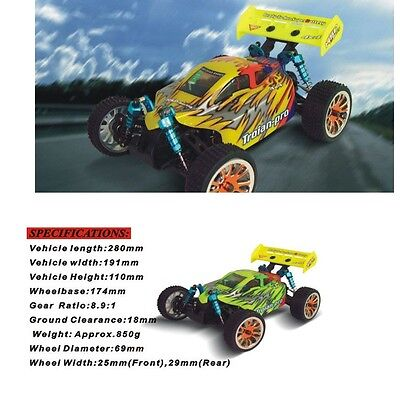 HSP 94185 Pro 1/16th Scale Electric Powered Off Road Buggy 1:16 Spare Parts (2)