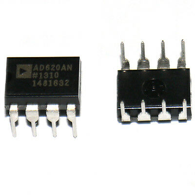 Low Power Instrumentation Amplifier IC AD620AN DIP-8 AD620 620 Hot Sale K