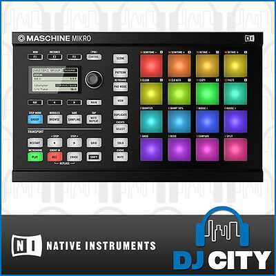 Native Instruments Maschine Mikro MK2 Black Drum & Groove Studio Controller
