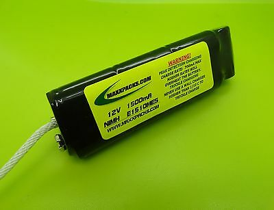 1500mA NIMH BATTERY FITS MINELAB EXCALIBUR II 2 / MADE IN USA